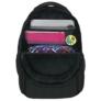 Kép 6/8 - BackUp iskolatáska, hátizsák - 3 rekeszes - Elefántbőr (PLB2H38)