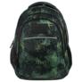 Kép 2/8 - BackUp iskolatáska, hátizsák - 3 rekeszes - Őserdő (PLB2H49)
