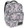 Kép 1/4 - BackUp iskolatáska, hátizsák - 3 rekeszes - Pasztell cikcakk (PLB2L11)
