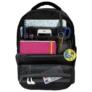 Kép 2/4 - BackUp iskolatáska, hátizsák - 3 rekeszes - Pasztell cikcakk (PLB2L11)
