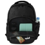 Kép 8/8 - BackUp iskolatáska, hátizsák - 3 rekeszes - Cseresznyevirág (PLB2L25)