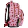 Kép 3/8 - BackUp iskolatáska, hátizsák - 3 rekeszes - Cseresznyés (PLB2L31)