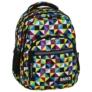Kép 1/8 - BackUp iskolatáska, hátizsák - 4 rekeszes - Kaleidoszkóp (PLB2M34)