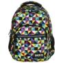 Kép 2/8 - BackUp iskolatáska, hátizsák - 4 rekeszes - Kaleidoszkóp (PLB2M34)