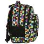 Kép 3/8 - BackUp iskolatáska, hátizsák - 4 rekeszes - Kaleidoszkóp (PLB2M34)