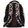 Kép 4/8 - BackUp iskolatáska, hátizsák - 4 rekeszes - Kaleidoszkóp (PLB2M34)