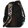 Kép 5/8 - BackUp iskolatáska, hátizsák - 4 rekeszes - Kaleidoszkóp (PLB2M34)