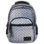 Kép 2/8 - BackUp iskolatáska, hátizsák - 4 rekeszes - Lemez minta (PLB2M42)