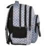 Kép 3/8 - BackUp iskolatáska, hátizsák - 4 rekeszes - Lemez minta (PLB2M42)