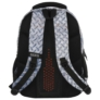 Kép 4/8 - BackUp iskolatáska, hátizsák - 4 rekeszes - Lemez minta (PLB2M42)