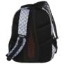 Kép 5/8 - BackUp iskolatáska, hátizsák - 4 rekeszes - Lemez minta (PLB2M42)