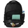 Kép 8/8 - BackUp iskolatáska, hátizsák - 4 rekeszes - Lemez minta (PLB2M42)