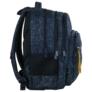 Kép 3/8 - BackUp iskolatáska, hátizsák - 4 rekeszes - Sötétkék (PLB2M46)