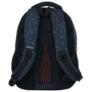 Kép 4/8 - BackUp iskolatáska, hátizsák - 4 rekeszes - Sötétkék (PLB2M46)