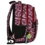 Kép 3/8 - BackUp iskolatáska, hátizsák - 3 rekeszes - Málnás (PLB2N30)