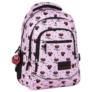 Kép 1/7 - BackUp iskolatáska, hátizsák - 3 rekeszes - Minnie Mouse (PLB2XMM90)
