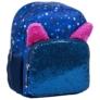 Kép 1/4 - BackUp cicás hátizsák - Kék csillámos