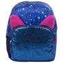 Kép 2/4 - BackUp cicás hátizsák - Kék csillámos