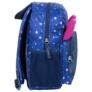 Kép 3/4 - BackUp cicás hátizsák - Kék csillámos