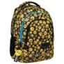 Kép 1/6 - BackUp Emoji iskolatáska, hátizsák - 3 rekeszes - Emoticons