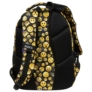 Kép 5/6 - BackUp Emoji iskolatáska, hátizsák - 3 rekeszes - Emoticons