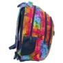 Kép 3/6 - BackUp iskolatáska, hátizsák - 3 rekeszes - Szivárvány szirmok