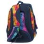 Kép 4/6 - BackUp iskolatáska, hátizsák - 3 rekeszes - Szivárvány szirmok