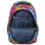 Kép 6/6 - BackUp iskolatáska, hátizsák - 3 rekeszes - Szivárvány szirmok
