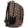 Kép 3/7 - BackUp iskolatáska, hátizsák - 3 rekeszes - Fox