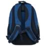 Kép 4/8 - BackUp iskolatáska, hátizsák - 3 rekeszes - Kék hullámok
