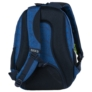 Kép 5/8 - BackUp iskolatáska, hátizsák - 3 rekeszes - Kék hullámok