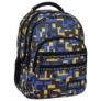 Kép 1/5 - BackUp iskolatáska, hátizsák - 4 rekeszes - Blocks