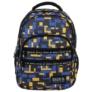Kép 2/5 - BackUp iskolatáska, hátizsák - 4 rekeszes - Blocks