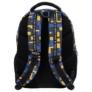 Kép 4/5 - BackUp iskolatáska, hátizsák - 4 rekeszes - Blocks