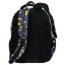 Kép 5/5 - BackUp iskolatáska, hátizsák - 4 rekeszes - Blocks