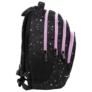 Kép 3/6 - BackUp iskolatáska, hátizsák - 4 rekeszes - Stars