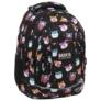Kép 1/7 - BackUp iskolatáska, hátizsák - 4 rekeszes - Cuki hörcsögök