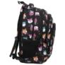 Kép 3/7 - BackUp iskolatáska, hátizsák - 4 rekeszes - Cuki hörcsögök
