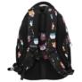 Kép 4/7 - BackUp iskolatáska, hátizsák - 4 rekeszes - Cuki hörcsögök