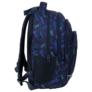 Kép 3/7 - BackUp iskolatáska, hátizsák - 4 rekeszes - Kék leopárdok