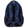 Kép 4/7 - BackUp iskolatáska, hátizsák - 4 rekeszes - Kék leopárdok
