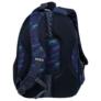 Kép 5/7 - BackUp iskolatáska, hátizsák - 4 rekeszes - Kék leopárdok