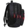 Kép 3/5 - BackUp iskolatáska, hátizsák - 4 rekeszes - Keyboard