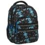 Kép 1/5 - BackUp iskolatáska, hátizsák - 4 rekeszes - Mozaik