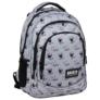 Kép 1/6 - BackUp Minnie Mouse iskolatáska, hátizsák - 3 rekeszes - Grey