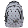 Kép 2/6 - BackUp Minnie Mouse iskolatáska, hátizsák - 3 rekeszes - Grey