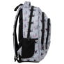 Kép 3/6 - BackUp Minnie Mouse iskolatáska, hátizsák - 3 rekeszes - Grey