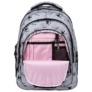Kép 6/6 - BackUp Minnie Mouse iskolatáska, hátizsák - 3 rekeszes - Grey