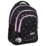 Kép 1/6 - BackUp Minnie Mouse iskolatáska, hátizsák - 3 rekeszes - Black
