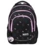 Kép 2/6 - BackUp Minnie Mouse iskolatáska, hátizsák - 3 rekeszes - Black